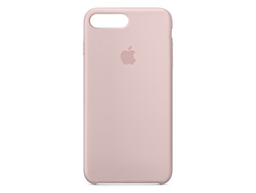 Apple MMYJ2ZM/A iPhone 7 Plus Leather Hülle schwarz rosa