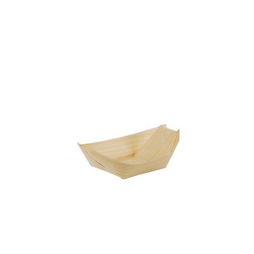 '50Fingerfood-shell, Legno 11cm x 6,5cm