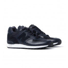 New Balance 576 Made In England Deep Navy Leather Trainers