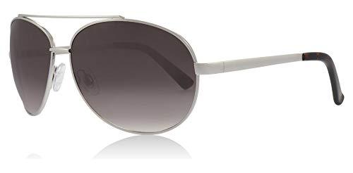 Glare Eyewear Maui-Aviator-Sonnenbrille in Silber RHS90 One Size Gradient Grey
