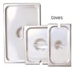 Adcraft Slot Cover For 1/2 Size Insert Pan (Cst-H/Sl) by Admiral Craft Insert Pan Cover