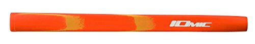 iomic Art Series Putter Griff 65 g mittlere Größe, Herren, Opus Orange/Yellow -