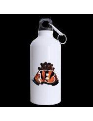 Football Team Cincinnati Bengals Gloves Logo For Sports Fans Custom Design Travel Water Bottle Hiking Tea Cup Coffee Mug 13.5 OZ