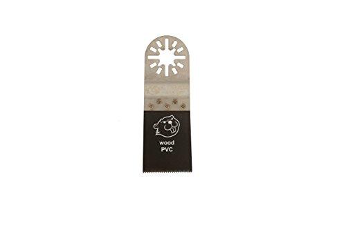 5 E-Cut Sägeblätter MUI 035 Standard 35 mm. ++ preisgünstige Markenqualität ++ Mit Universalverzahnung und Multifunktionsaufnahme. Das Profi-Zubehör für Ihr oszillierendes Multifunktionswerkzeug passend für AEG, BOSCH, CRAFTSMAN, EINHELL, FEIN, MASTERCRAFT, MILWAUKEE, RIGID, SKIL und viele mehr... - Das Original seit 1997 vom Schweizer Erfinder. Produzierte bisher für den Weltmarktführer. ++ extrem scharf ++ hohe Standzeiten ++