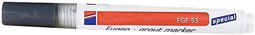 Venus valink Fliesen-Mörtel Beschichtung Marker Wand Boden Keramik Fliesen Lücken Professionelle Reparatur Stift Wasserdicht Schimmelfest für Heimdekoration dunkelgrau
