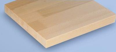 Werkbank kompakt, Buchemassivplatte - Breite 1140 mm, mit Ablageboden - fahrbar - Arbeitsplatz Arbeitstisch Montagetisch Werkbank Werktisch - 3