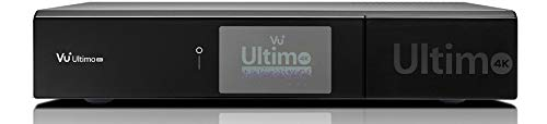 VU+ Ultimo 4K 1x DVB-S2 FBC Twin Tuner Satellitenreceiver (PVR ready, Linux Receiver, Ultra High Definition 2160p) - Lcd-tv-tuner-box