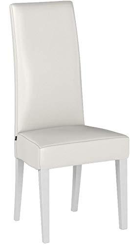Tommychairs sillas de Design - Set de 4 sillas Luisa para Cocina, Bar y Restaurante, con Estructura en Madera de...