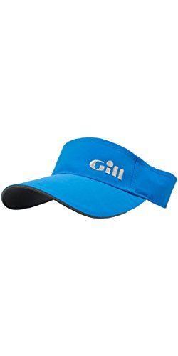 Gill Sailing Cap (2018 GILL Regatta Visor BRIGHT BLUE 145)