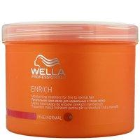 Wella Tratamiento hidratante cabello Enrich - 500