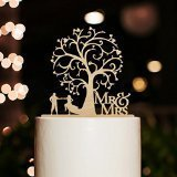 Mr and Mrs Karen's Cake Toppers-Topper per