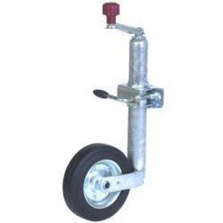 Trailer Jack Steel Wheel 42mm, H 570- 840mm, Dia 200mm (Jockey Wheel) Test
