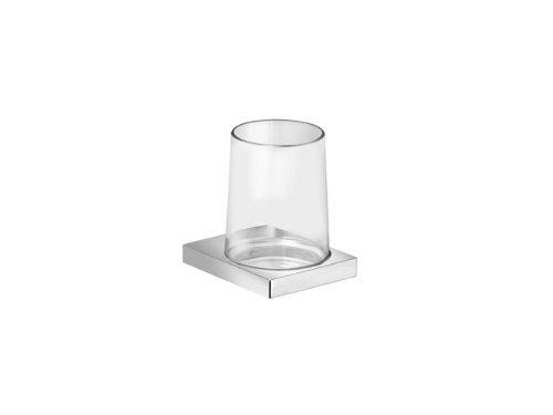 Keuco 11150019000 Edition 11 Glashalter Chrom komplett mit Glas