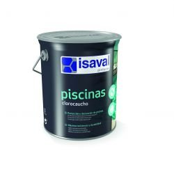 Isaval-Vernice Piscina clorocaucho 5K. Blu