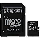 Kingston SDC10G2/16GB micro SDHC classe 10UHS-I microSDHC