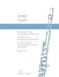 Die Londoner Trios für 2 Flöten und Vi...