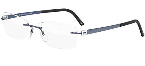 Schwarzkopf Brillen Silhouette TITAN ACCENT 5452/4496 NAVY Unisex