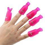 Clip plástico acrílico XXWG quitar uñas artificiales