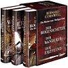 """Buchseite und Rezensionen zu 'Bernard Cornwell Die Bücher vom Heiligen Gral """"Der Bogenschütze"""", """"Der Wanderer"""", """"Der Erzfeind""""' von Bernard Cornwell"""
