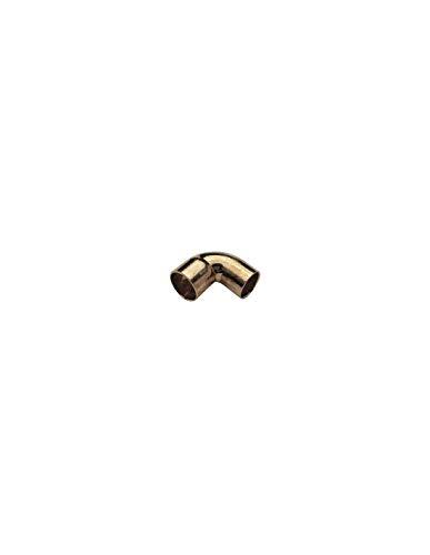 Coude 90° M/F Petit Rayon cuivre à souder/Diam 54/Mâle/Femelle