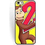 Coque,Personalized Cartoon Anime Pattern Series Coque iphone 6s Case/Coque iphone 6 Case Protective for Boys, Coque iphone 6/6s (4.7 Inch) Phone Case Curious George A Halloween Boo Suit Cartoon Characters Tough
