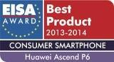 Huawei Ascend P6 - EISA Award for Best Consumer Smartphone