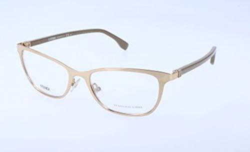Fendi Damen FF 0011 7SU/17-53-17-135 Brillengestelle, Weiß, 53