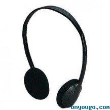 Lauson PH-92 TV - Auriculares de diadema abiertos, negro