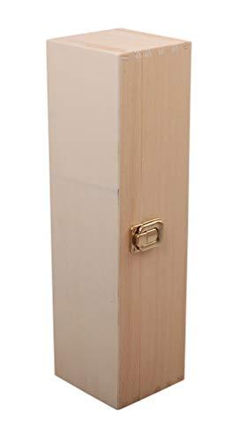 MYBOXES Geschenkverpackung für 1 Weinflasche Größe 10x9,7x35,5cm
