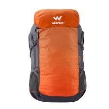 Wildcraft Polyester Orange Rucksack (Verge 50 : Wildcraft : Orange)  available at amazon for Rs.3199