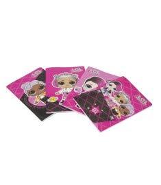 Giochi preziosi pacco 12 quaderni max lol rig.b (3^ elementare)