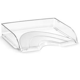 Cep 1013520111 - Vaschette portacorrispondenza, impilabili, accessori per corrispondenza 135/2, colore: Trasparente