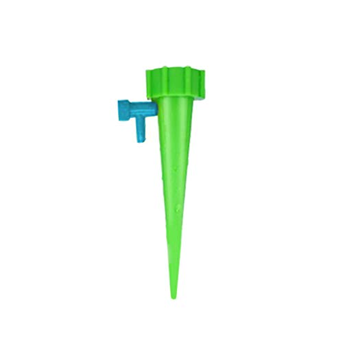 Theshy Kit D'Irrigation,Dispositif D'Arrosage RéGlable D'Arrosage D'Arrosage Automatique De Distributeur d'eau De L'Usine 12Pcs Outil D'Irrigation Goutte à Goutte pour L'Arrosage des Plantes (Vert)