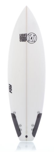 LIGHT Erwachsene Rev Skate Carbon Patch Surfboard, White, 6'2 Preisvergleich