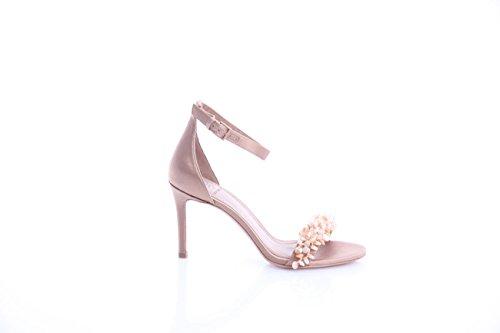 Tory Burch Sandals in Silk with Heel, Damen, Taglia 7.