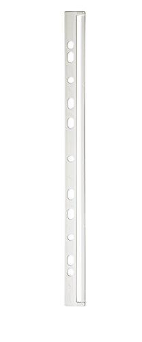 Durable 293502 Ordnungsschienen (für DIN A4) Packung à 50 Stück weiß