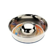 Caldex Classic Stainless Steel Non-Slip Slow Feeder, Large, 28 cm