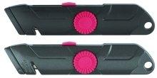 Ecobra - 770550 Sicherheits-profi-cutter In Schwarzrot