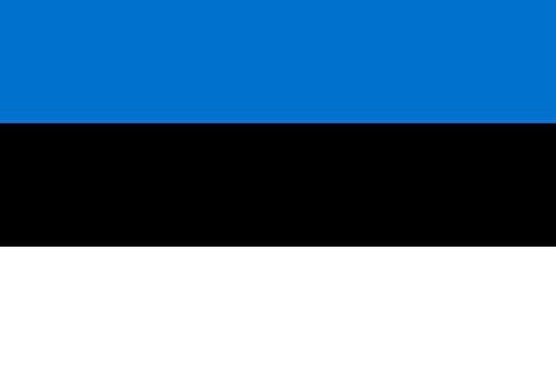 magFlags Flagge: XXS Estland | Querformat Fahne | 0.24m² | 40x60cm » Fahne 100% Made in Germany