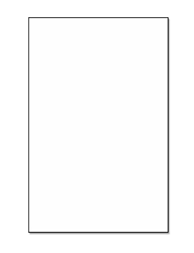 Glatte Bezug Lager 80# LB. 216GSM. Weiß, 98Helligkeit 11x17 weiß