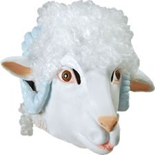 Masque De Mouton Deluxe - Masque de Déguisement - Mouton