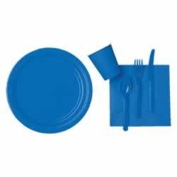 amscan-international-228-cm-paper-plates-marine-blue-pack-of-8