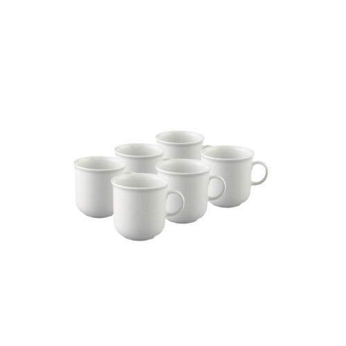 Thomas Trend Weiss Kaffeebecher-Set 6tlg. (Becher Thomas)