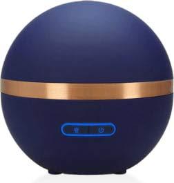 Florame - Diffuseur Ultrasonique d'Huiles Essentielles Bleu Nuit