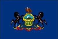 Pennsylvania State Flagge 3x 5neue große Flaggen US PA USA