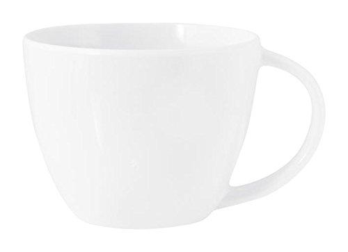 H+H Kaffee Tasse, Keramik, weiß, 120ml, 8x 9x 5cm