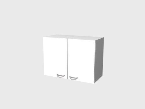 Hängeschrank 80 cm Weiß – Witus