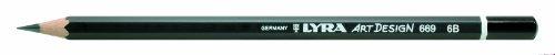 Bleistift LYRA ART Design 178x7mm 6B PG/12ST