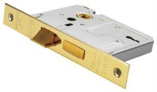 Carlisle Brass - LSE5325NP - EUROSPEC - Contract Locks Easi - T Contract 3 Lever Sashlock 64mm(2.5