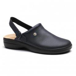 Toffeln Flexlite unisex Mule Plain superiore navy (0501N) Heel Strap Black